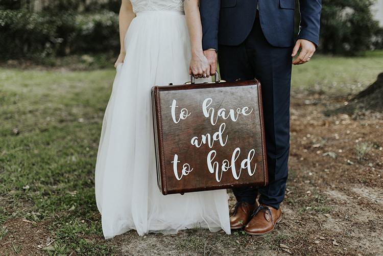 wedding sign ideas - https://ruffledblog.com/lovingly-handcrafted-backyard-wedding-with-boho-details