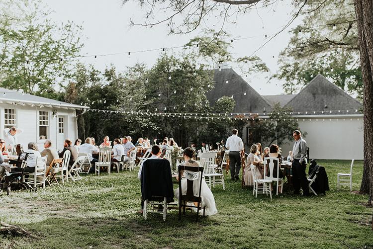 romantic backyard wedding ideas - https://ruffledblog.com/lovingly-handcrafted-backyard-wedding-with-boho-details