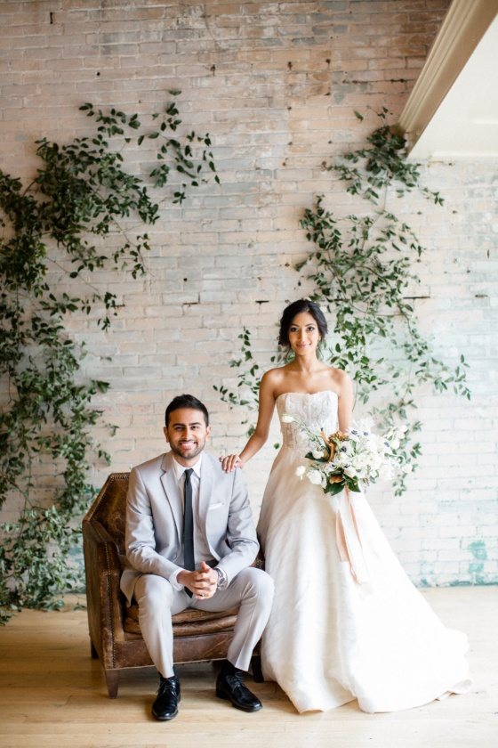 Lunaria Wedding Inspiration with a Muted Color Palette