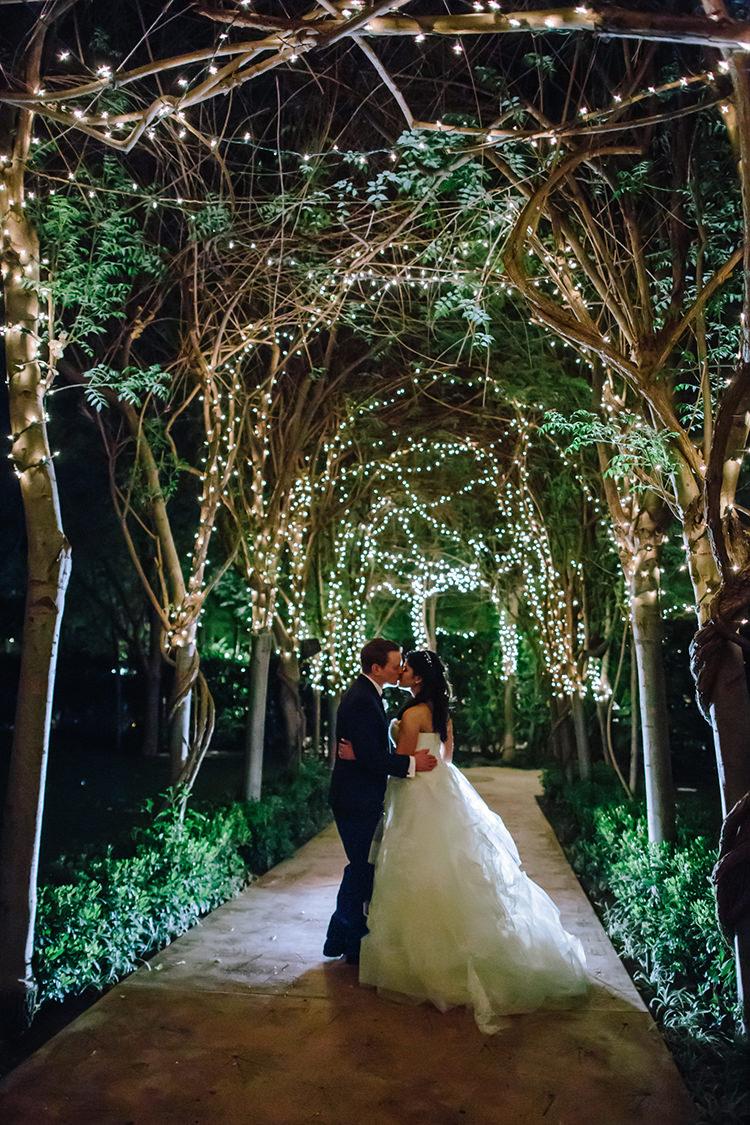 magical weddings - photo by Mirelle Carmichael https://ruffledblog.com/magical-midsummer-nights-dream-wedding