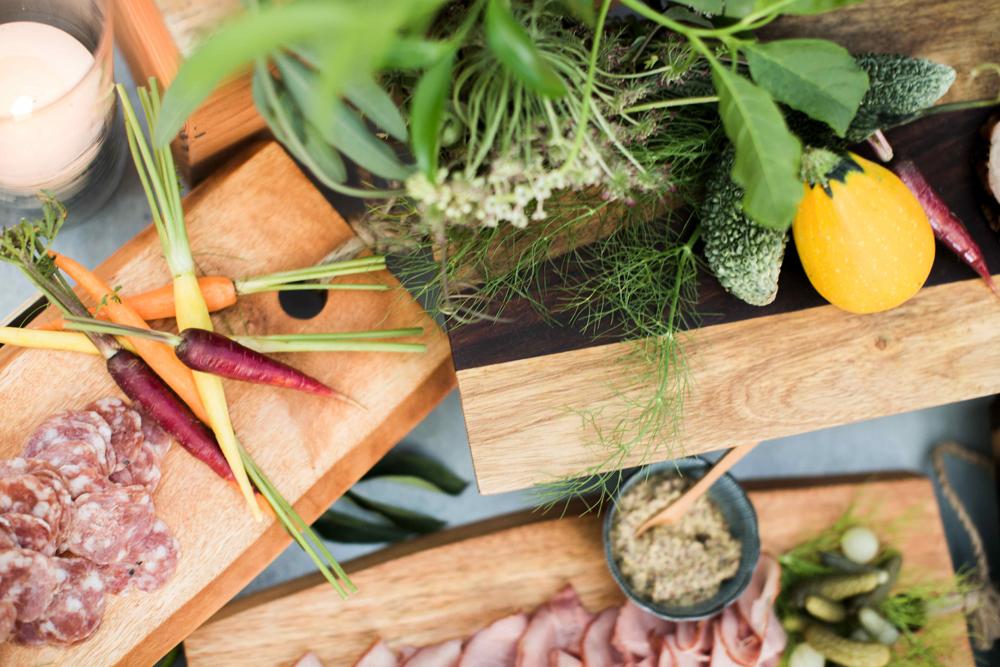 foodie weddings - photo by BrittRene Photo http://ruffledblog.com/modern-chic-foodie-wedding-inspiration-in-san-francisco