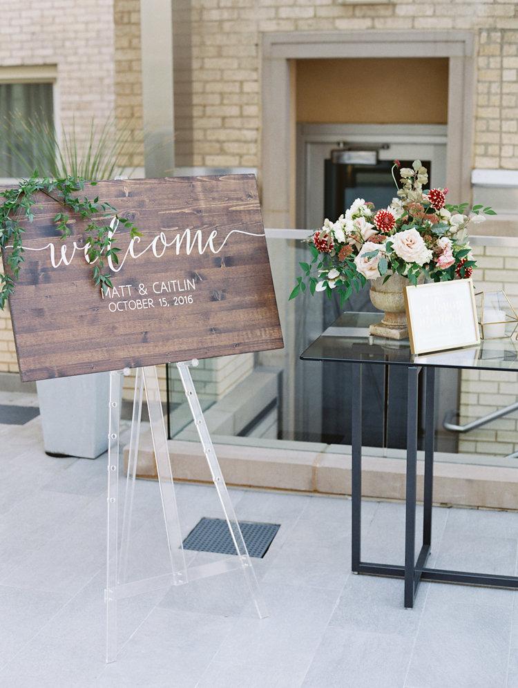 wedding inspriation - photo by Bethany Erin Photography http://ruffledblog.com/modern-meets-rustic-wedding-in-dallas