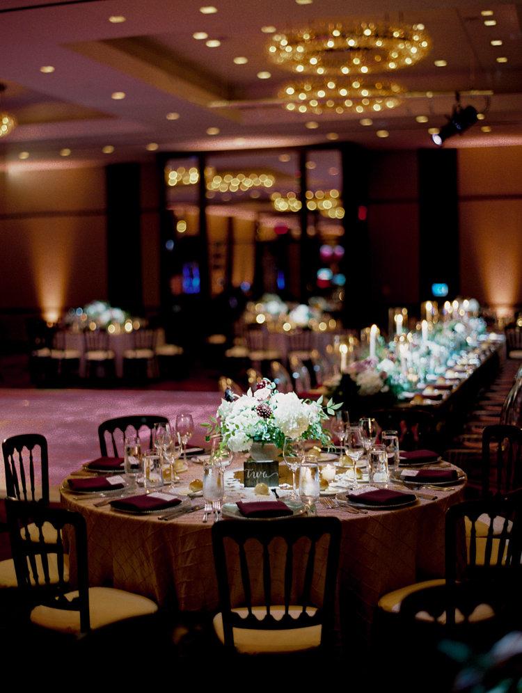 ballroom weddings - photo by Bethany Erin Photography http://ruffledblog.com/modern-meets-rustic-wedding-in-dallas