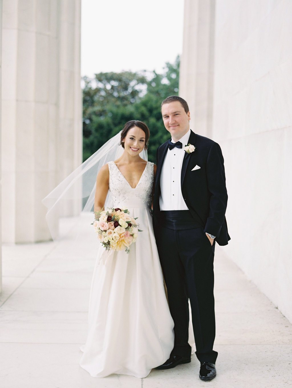 Modern Metallics Wedding in Downtown Washington DC - photo by Abby Jiu Photography https://ruffledblog.com/modern-metallics-wedding-in-downtown-washington-dc