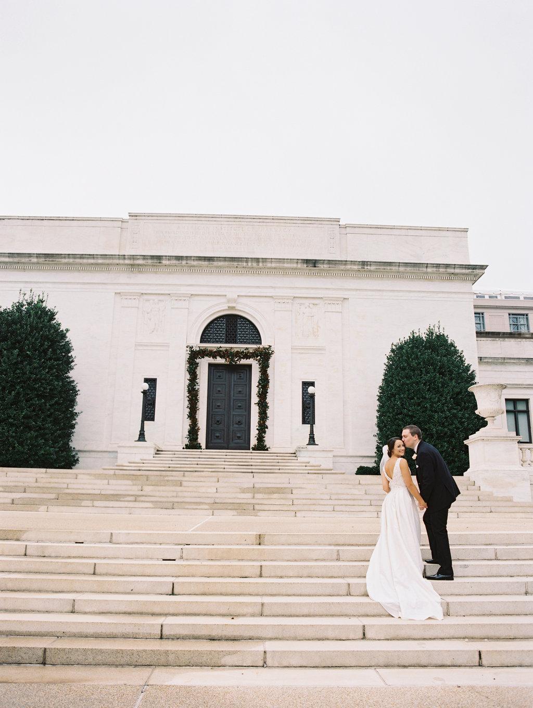 Washington DC weddings - photo by Abby Jiu Photography http://ruffledblog.com/modern-metallics-wedding-in-downtown-washington-dc