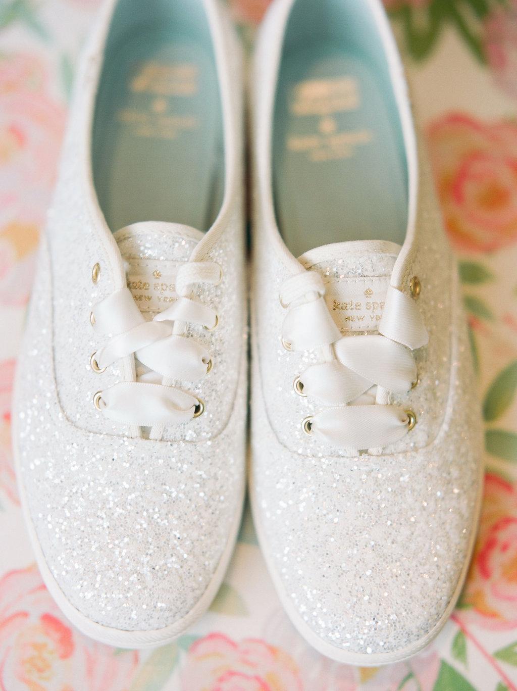 Kate Spade wedding shoes - https://ruffledblog.com/modern-playful-texas-carnival-wedding