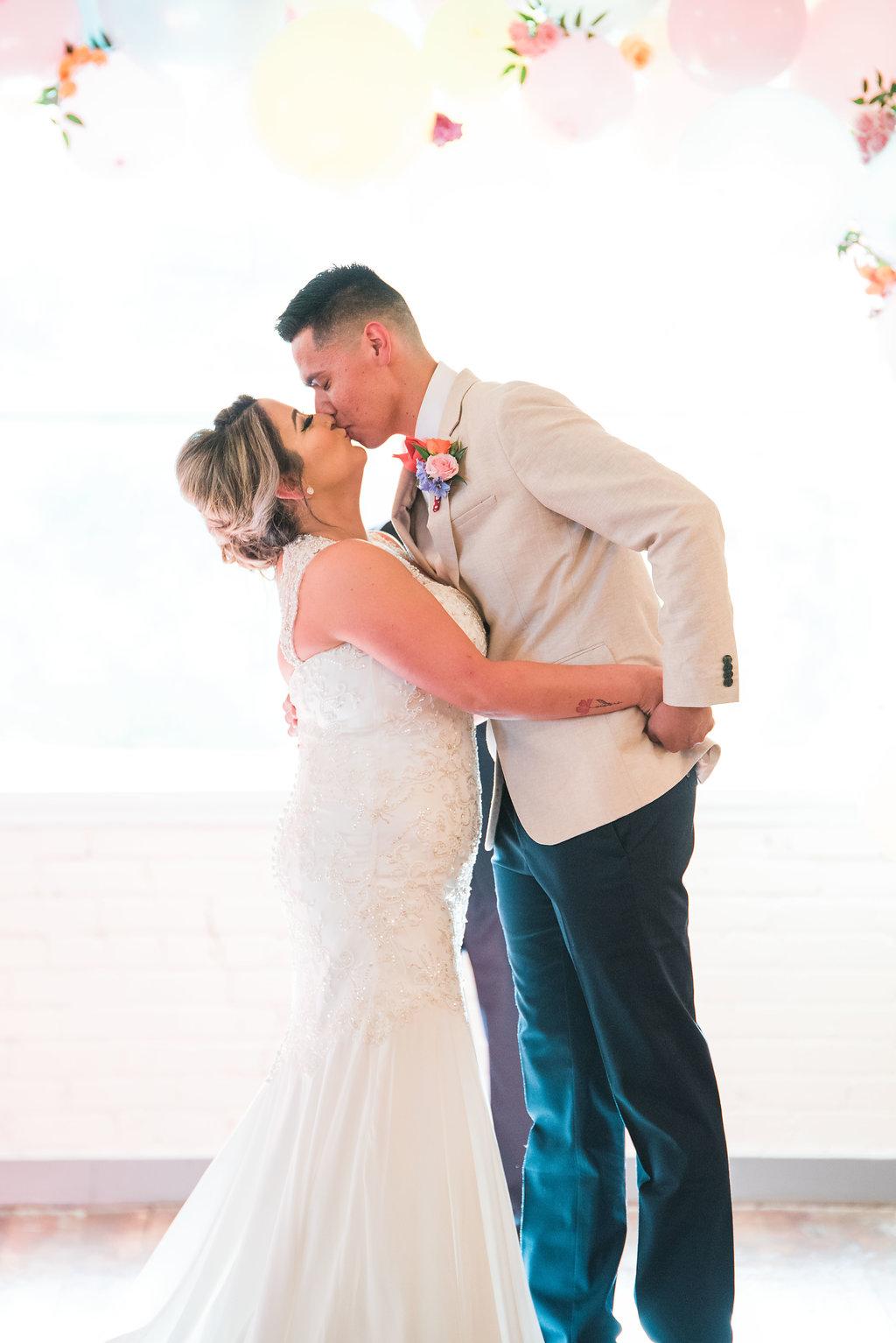 wedding ceremonies - https://ruffledblog.com/modern-playful-texas-carnival-wedding