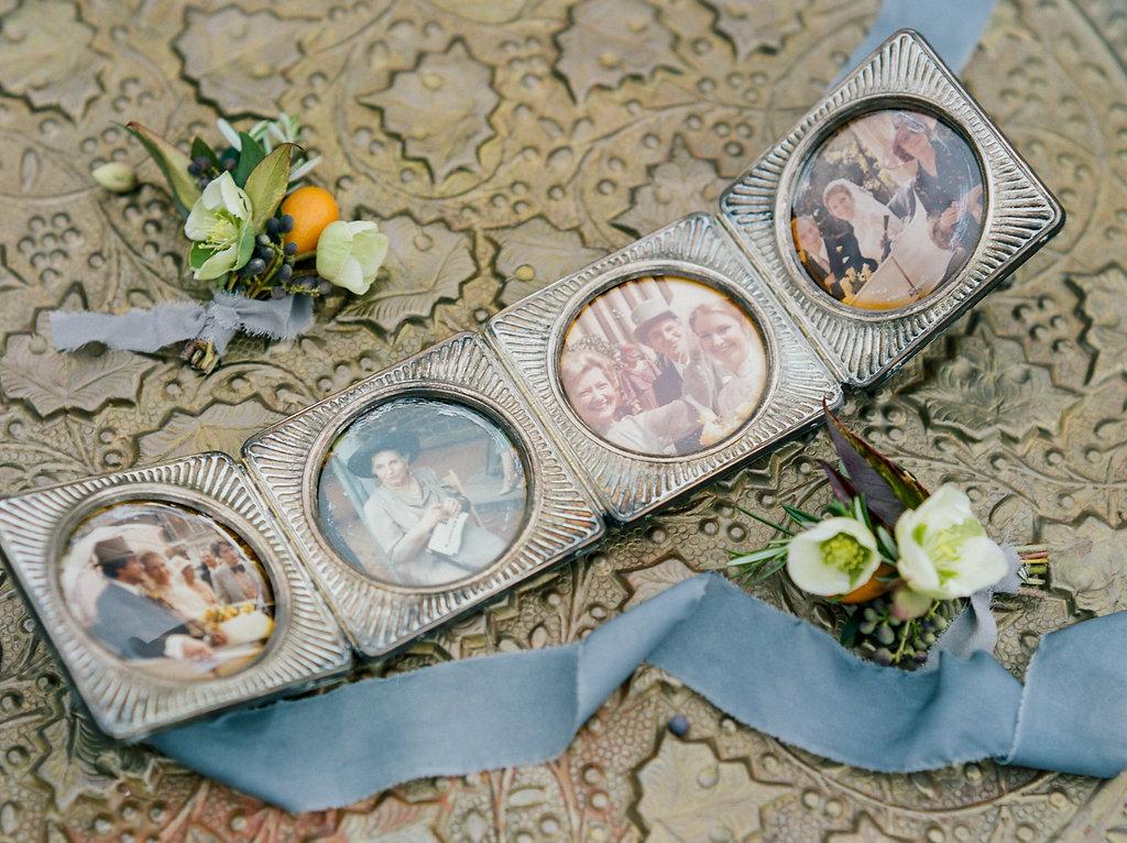 vintage heirlooms - photo by Lissa Ryan Photography http://ruffledblog.com/modern-romantic-wedding-ideas-with-family-heirlooms