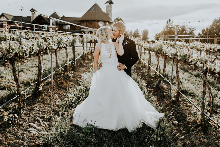 Modern Rustic Winery Wedding at Basel Cellars - photo by Alex Lasota Photography https://ruffledblog.com/modern-rustic-winery-wedding-at-basel-cellars