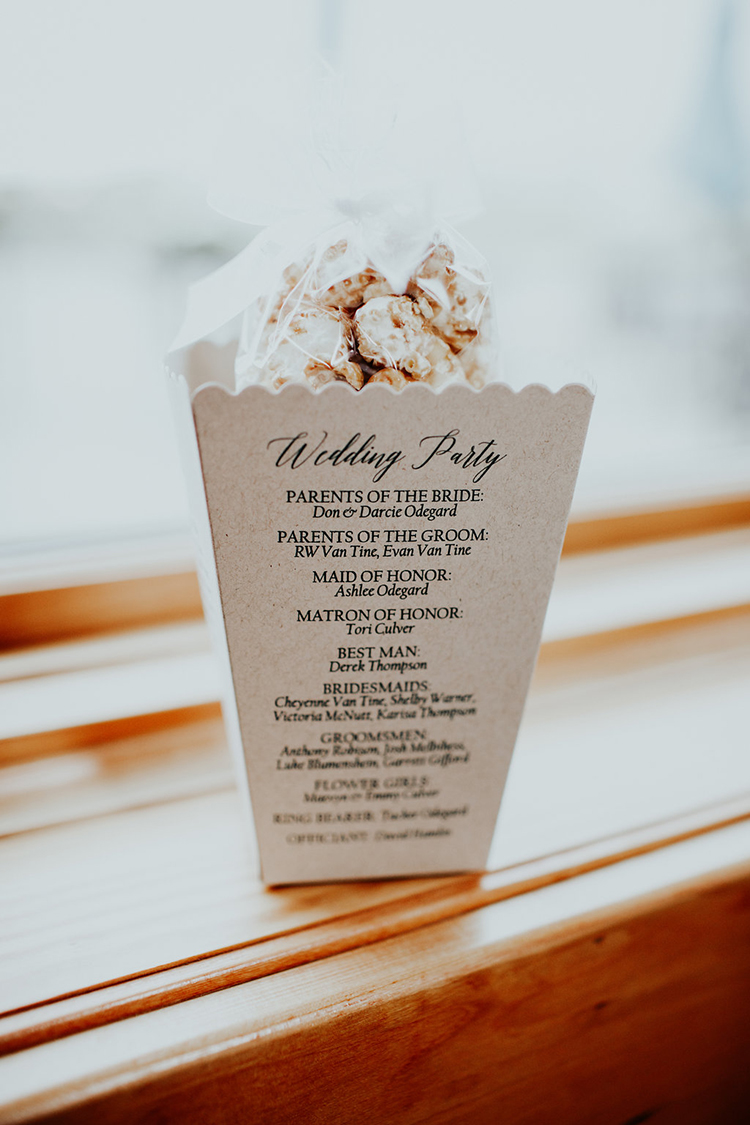 wedding paper goods - photo by Alex Lasota Photography http://ruffledblog.com/modern-rustic-winery-wedding-at-basel-cellars