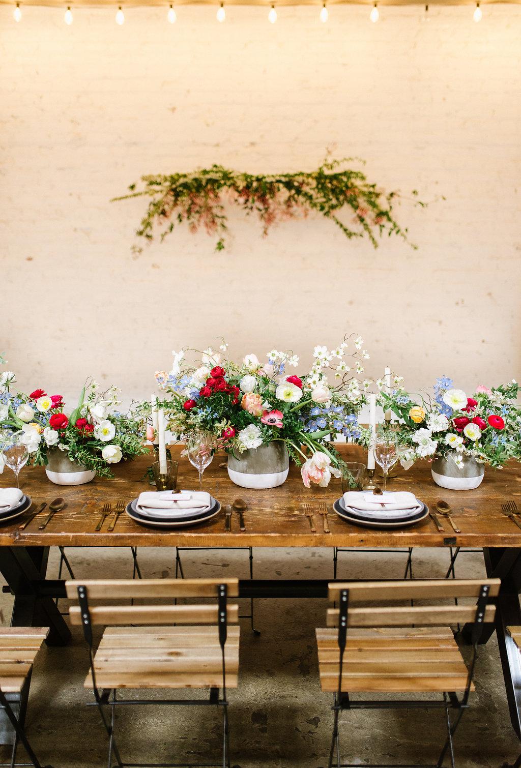 garden inspired weddings - photo by Chelsea Dier Photography https://ruffledblog.com/modern-san-francisco-winery-elopement