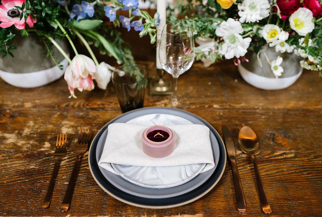 wedding inspo - photo by Chelsea Dier Photography https://ruffledblog.com/modern-san-francisco-winery-elopement