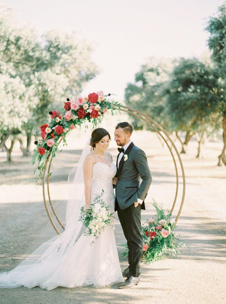 Modern Vineyard Wedding 16