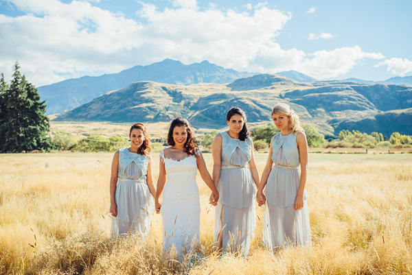 Mountaintop Wedding in New Zealand