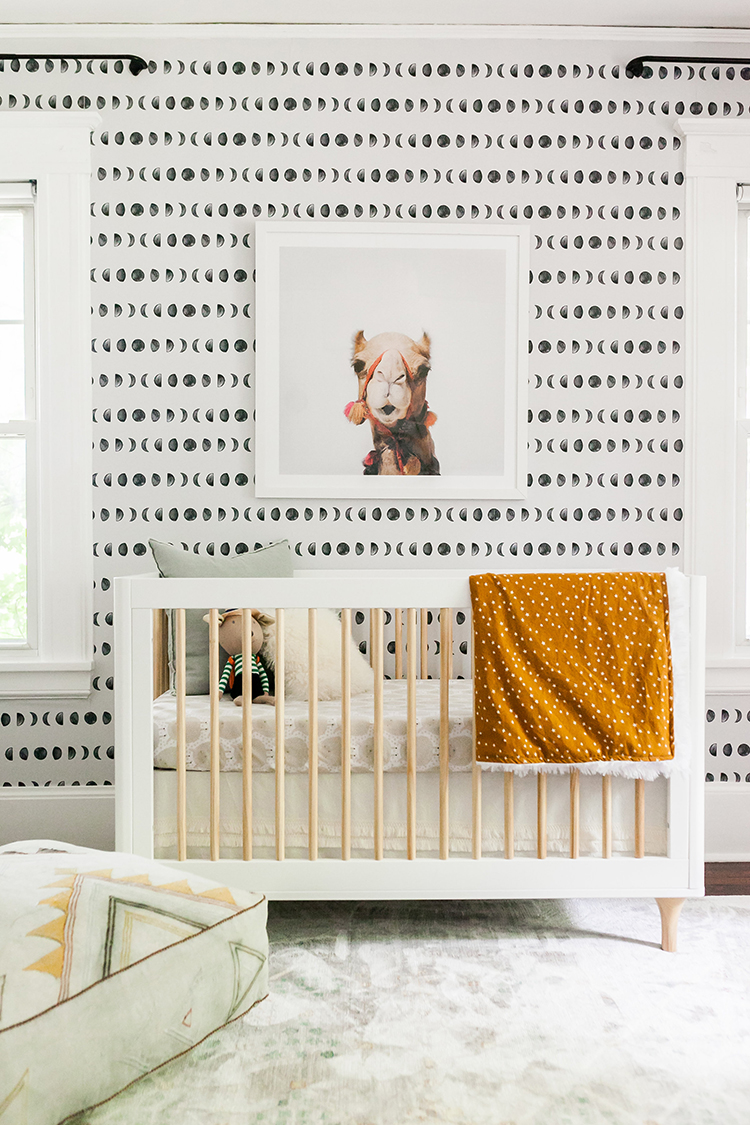 A Moroccan Inspired Neutral Nursery Tour