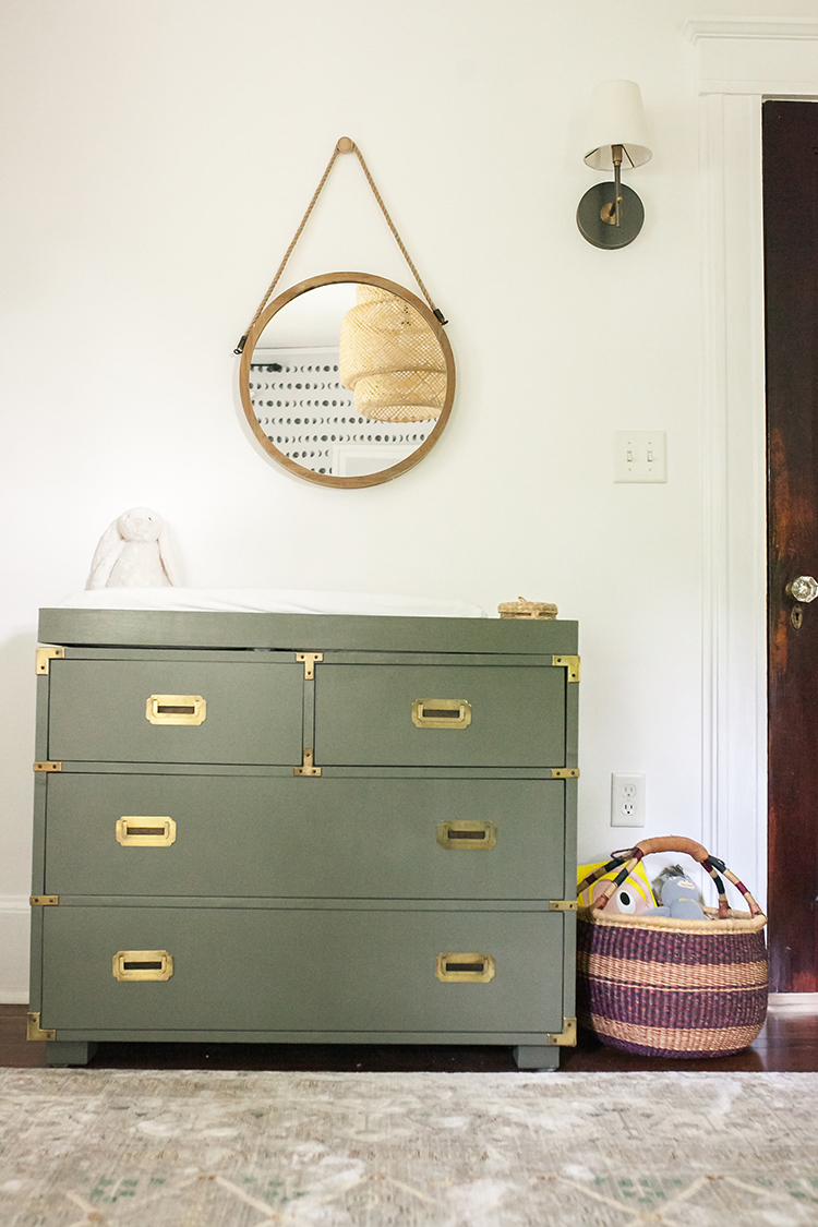 Neutral Nursery Tour with Moroccan Touches