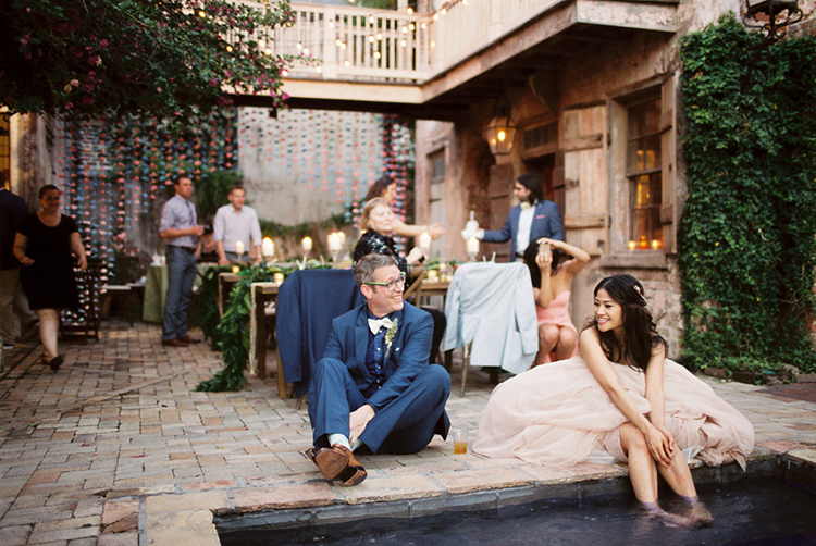 New Orleans Wedding Band 18 Inspirational weddings with pools photo