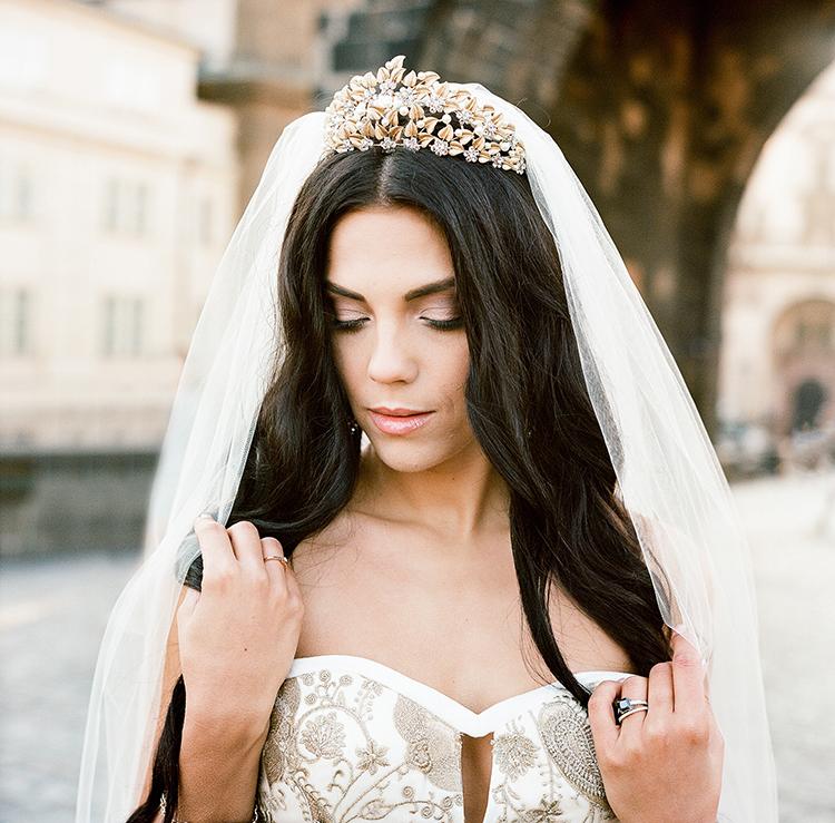 romantic fairy tale bridal looks - photo by Arte de Vie http://ruffledblog.com/old-world-romance-wedding-inspiration-in-prague