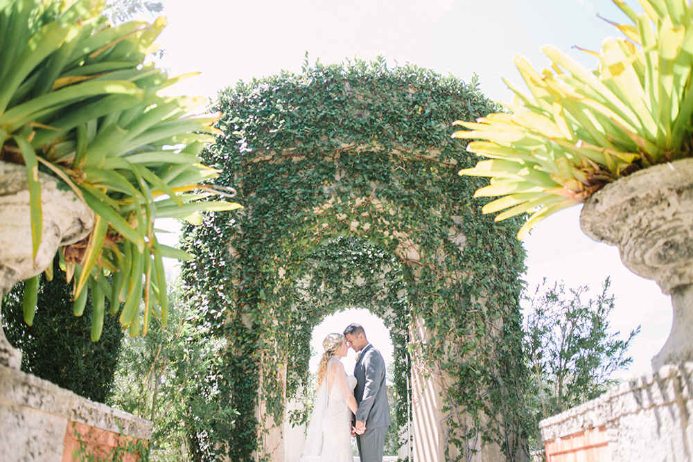 wedding inspiration - photo by Erica J Photography http://ruffledblog.com/old-world-wedding-editorial-at-vizcaya-museum