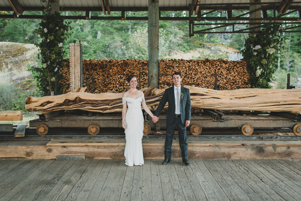 Orcas Island Wedding at a Sawmill ⋆ Ruffled