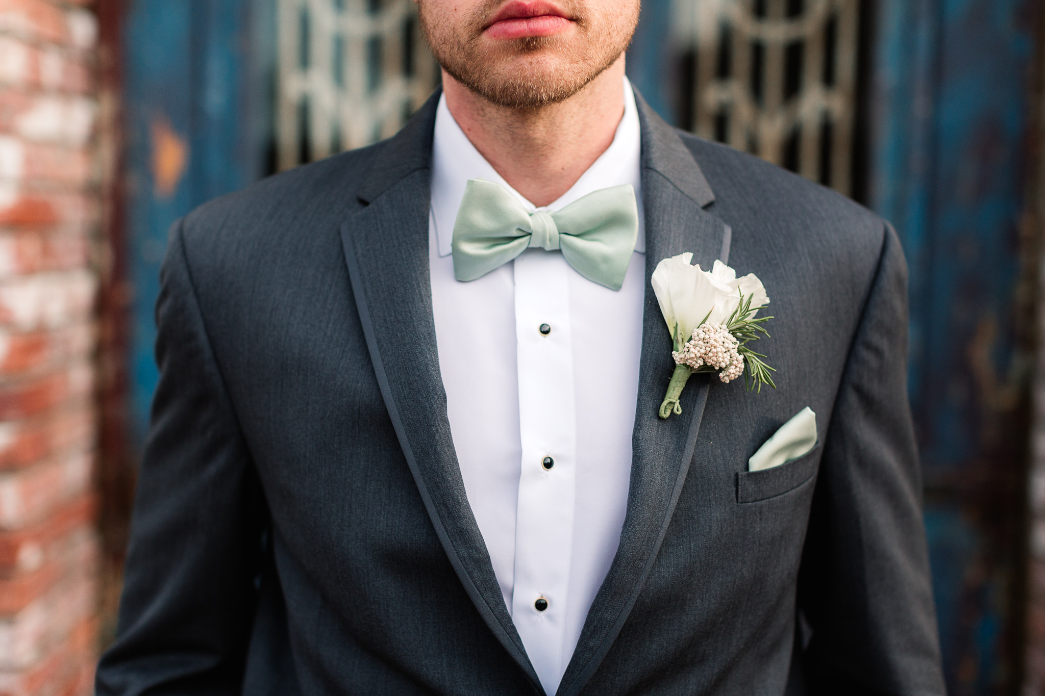 groom style - photo by B.Matthews Creative https://ruffledblog.com/organic-italian-inspired-wedding-ideas