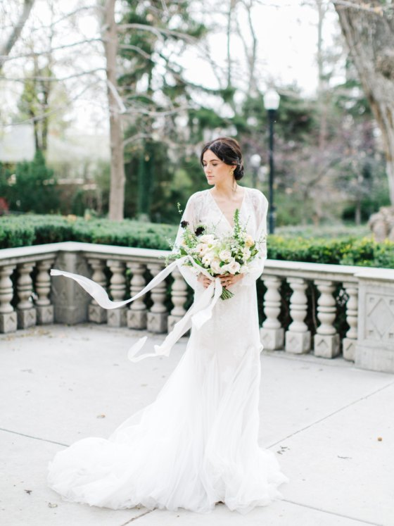 Organic Wedding Inspiration Drawn from a European Countryside Muse