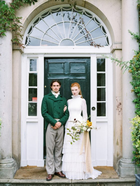 Outlander Wedding Inspiration with Scottish Romance