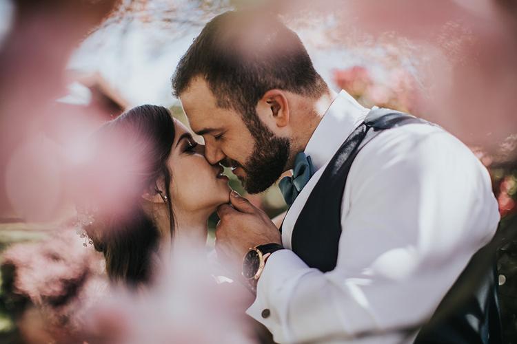 wedding portraits - photo by Rivkah Photography https://ruffledblog.com/pacific-northwest-wedding-with-a-secret-waterfall