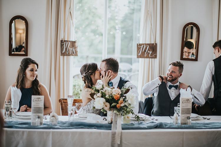 wedding receptions - photo by Rivkah Photography https://ruffledblog.com/pacific-northwest-wedding-with-a-secret-waterfall
