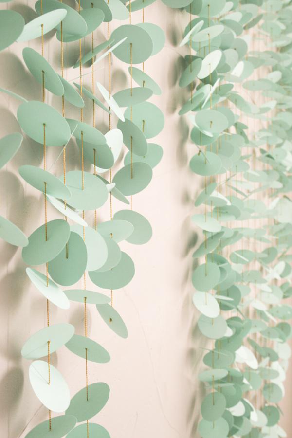 DIY Paper Punch Backdrop
