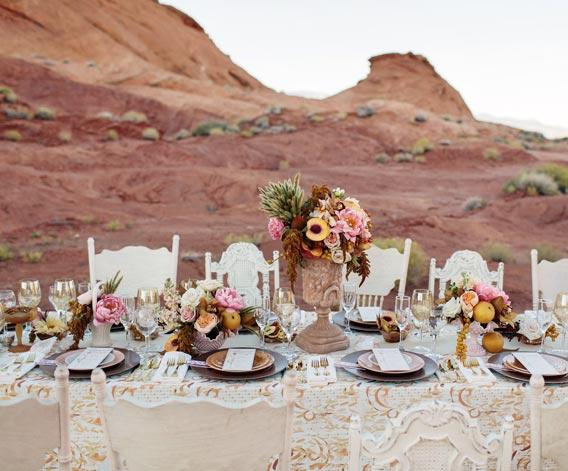 peach-and-rose-gold-wedding-ideas-9 · Ruffled