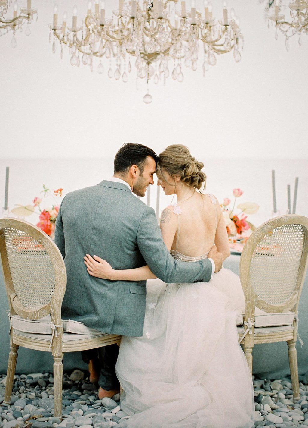 Pebbled Coast Wedding Inspiration 40