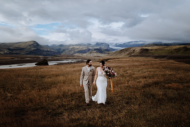 Picturesque Waterfall Elopement in Iceland #skogafosswaterfall #destinationweddings #elopementideas