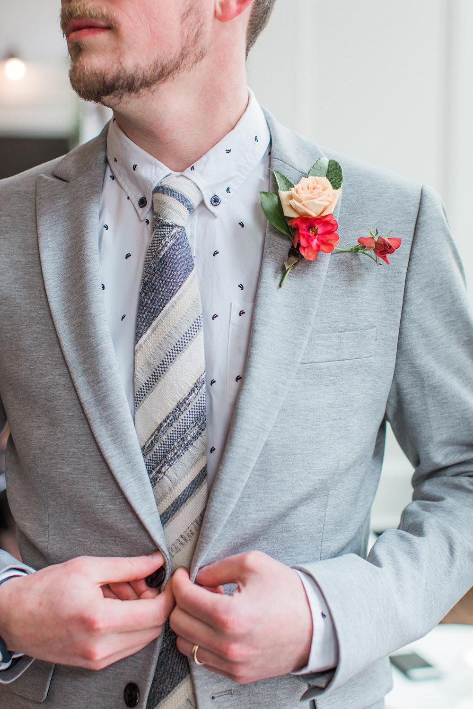 groom fashion - photo by Gina Neal Photography https://ruffledblog.com/portland-coffee-lovers-elopement-inspiration