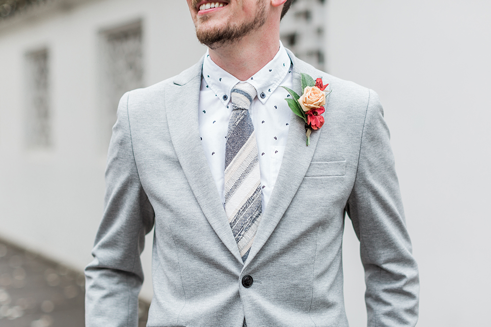 groom style - photo by Gina Neal Photography https://ruffledblog.com/portland-coffee-lovers-elopement-inspiration