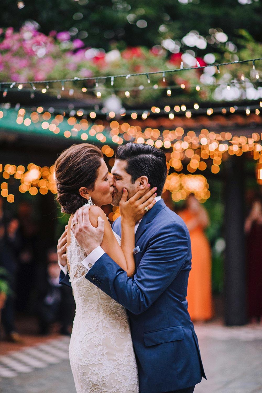 This Colorful Wedding Happened at a Rainforest Horse Ranch #destinationweddings #hacienda #spanishweddings
