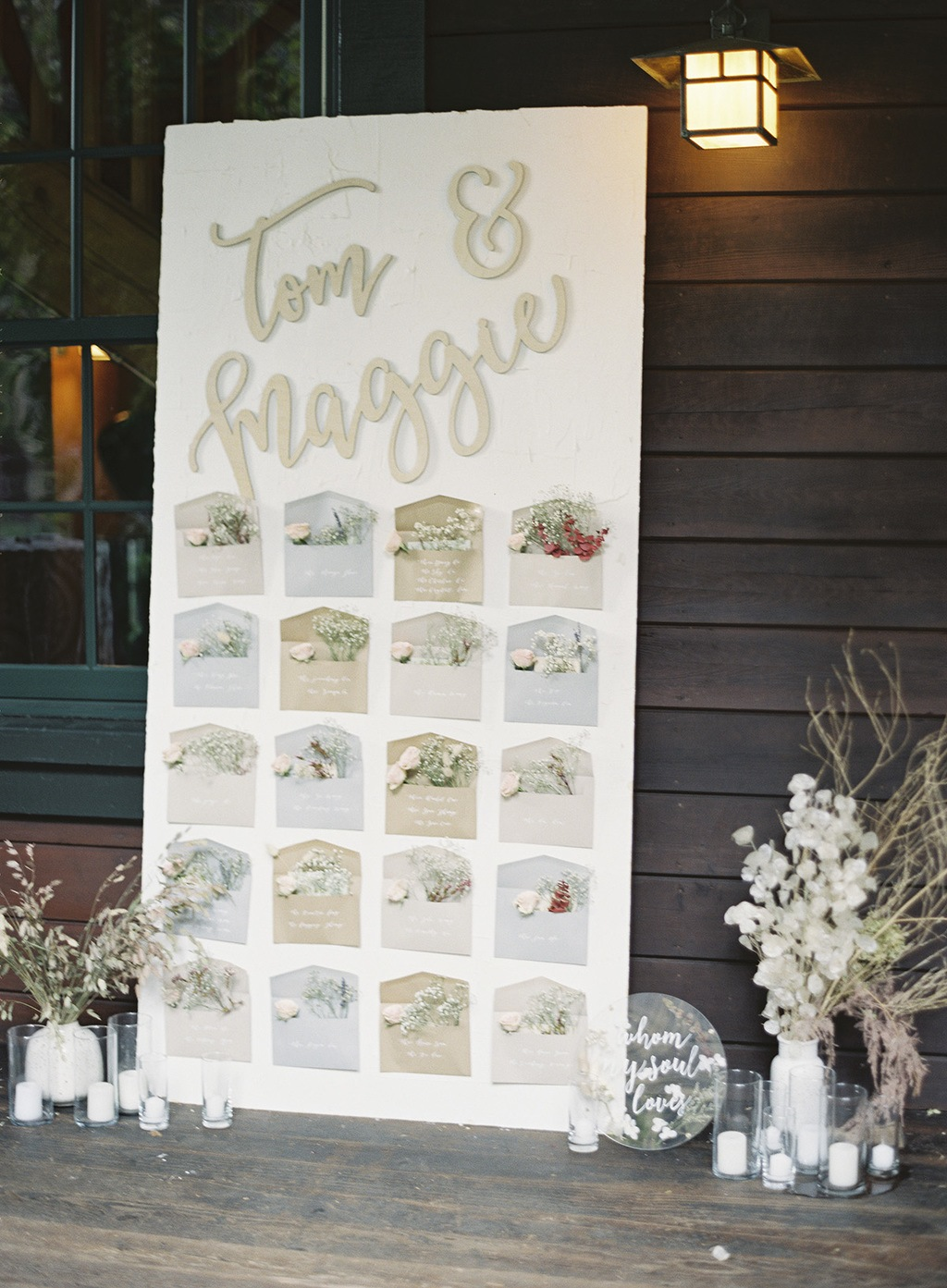 Redwoods Wedding With Dried Florals Foliage 20