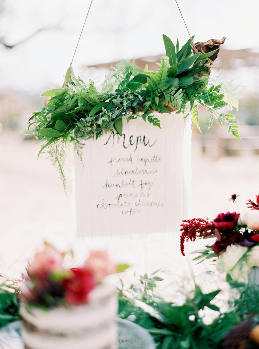 wedding paper goods - photo by Amanda Lenhardt http://ruffledblog.com/relaxed-san-juan-capistrano-wedding-inspiration