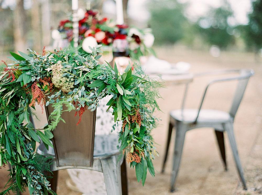 wedding chairs - photo by Amanda Lenhardt http://ruffledblog.com/relaxed-san-juan-capistrano-wedding-inspiration