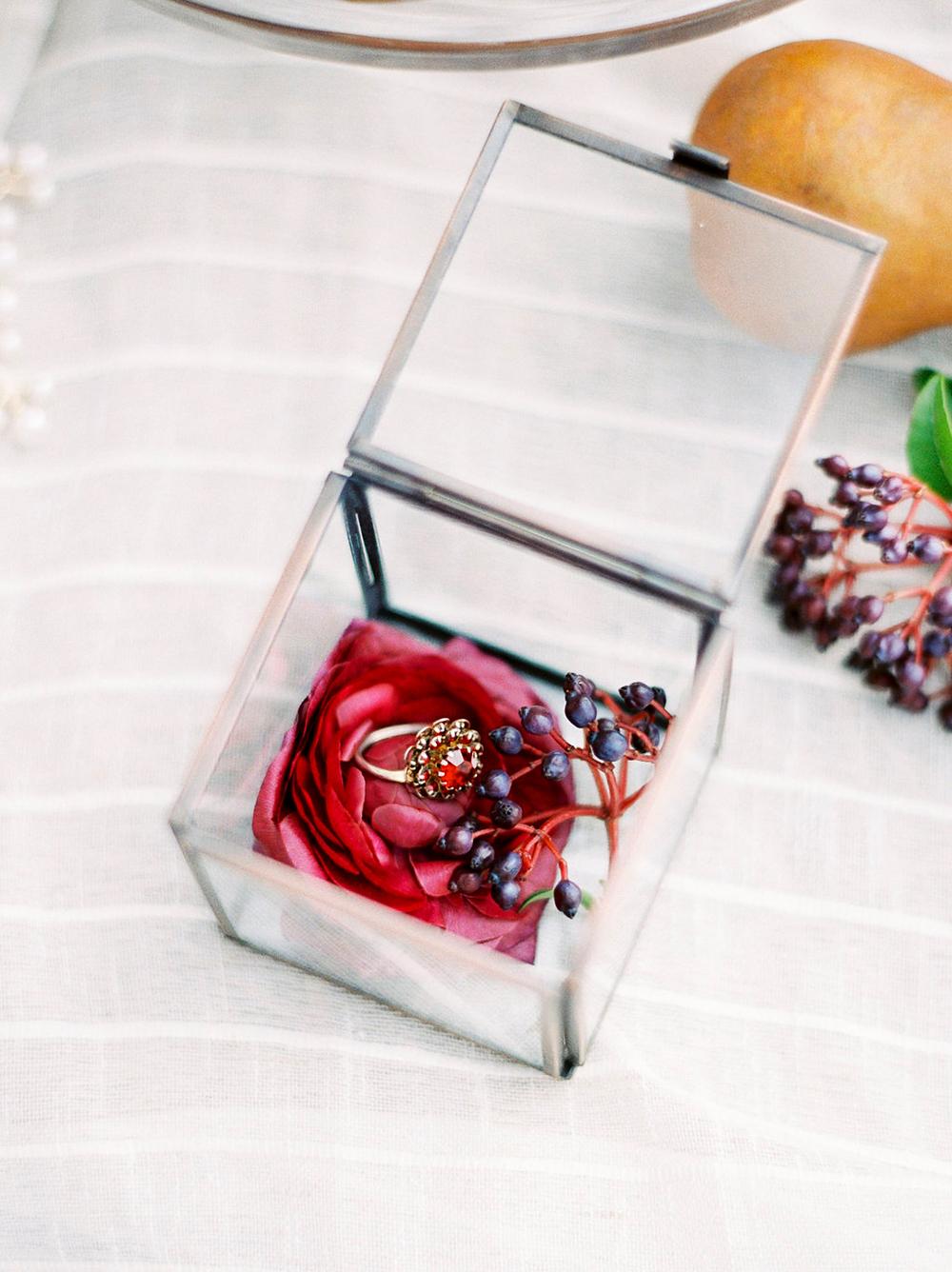engagement rings - photo by Amanda Lenhardt https://ruffledblog.com/relaxed-san-juan-capistrano-wedding-inspiration