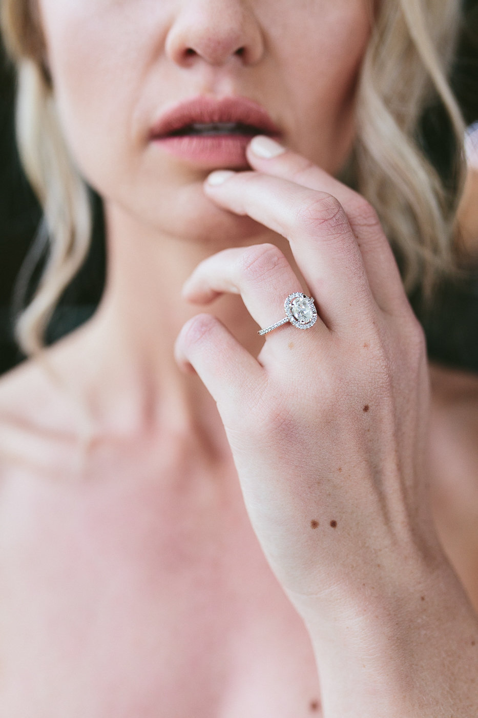wedding rings - photo by Hannah Victoria Photography http://ruffledblog.com/rich-toned-industrial-wedding-inspiration