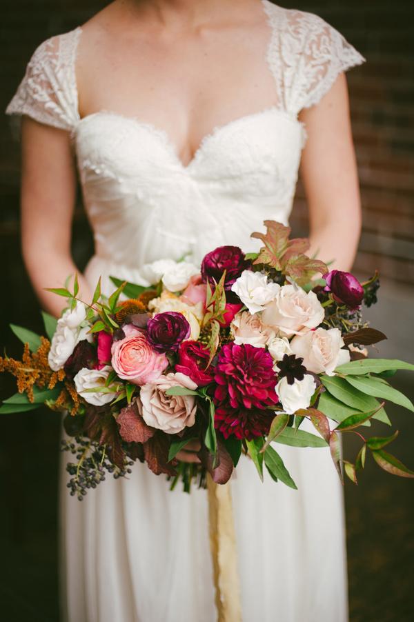 Fox flowers wedding