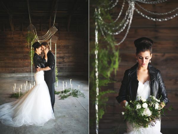 Rockin wedding