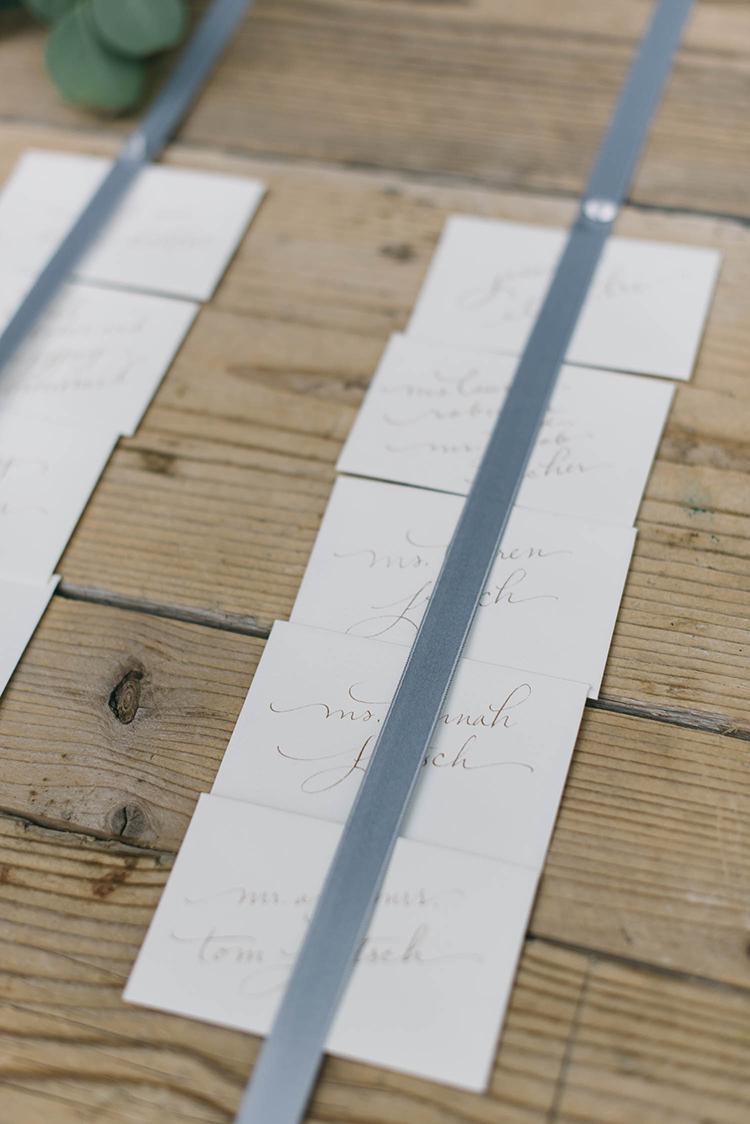 seating chart ideas - photo by Lisa Poggi http://ruffledblog.com/romantic-black-tie-wedding-in-tuscany
