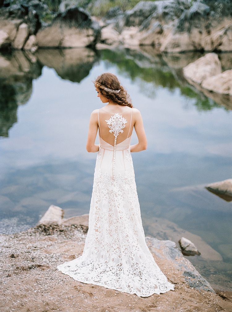 unique wedding dress backs - photo by Photographs by Czar Goss https://ruffledblog.com/romantic-bridal-inspiration-in-great-falls-virginia