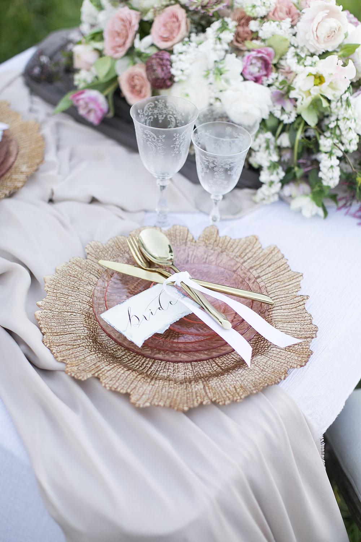 pink wedding details - photo by Tyler Rye Photography https://ruffledblog.com/romantic-coastal-california-wedding-inspiration