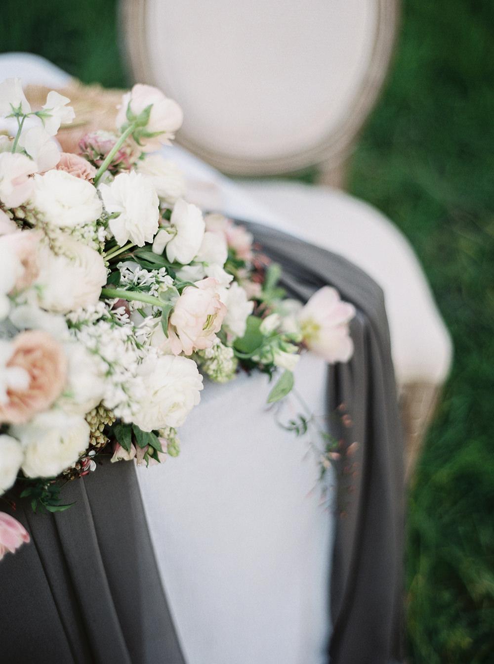 romantic wedding day details - photo by Tyler Rye Photography https://ruffledblog.com/romantic-coastal-california-wedding-inspiration