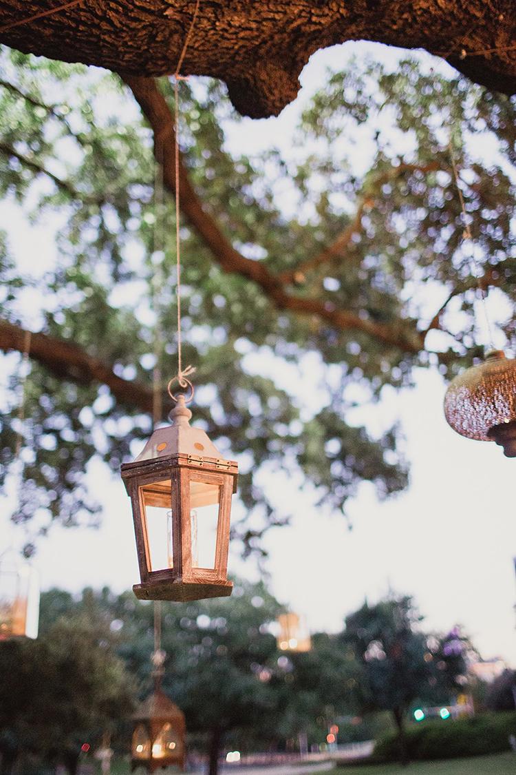 lantern decor - photo by Shaun Menary Photography https://ruffledblog.com/romantic-garden-wedding-at-arlington-hall