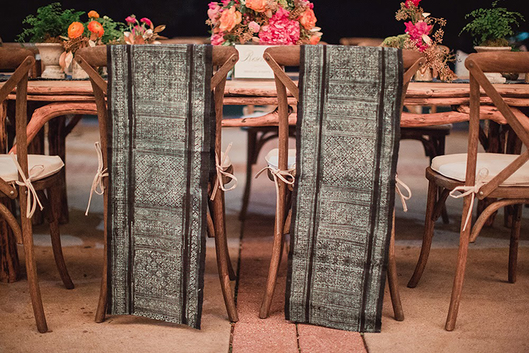 sweetheart chair ideas - photo by Shaun Menary Photography https://ruffledblog.com/romantic-garden-wedding-at-arlington-hall