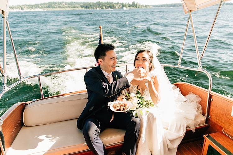 waterside weddings - https://ruffledblog.com/romantic-pacific-northwest-wedding-with-mauve-and-champagne